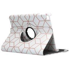 Custodia a Libro Design Girevole a 360° iPad mini (2019) / Mini 4 - Cubes Rose Gold