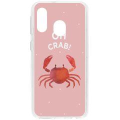 Cover Design Samsung Galaxy A40 - Oh Crab
