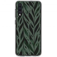 Cover Design Samsung Galaxy A50 / A30s - Green Leaves