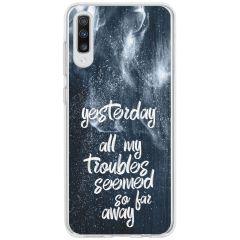 Cover Design Samsung Galaxy A70 - Yesterday