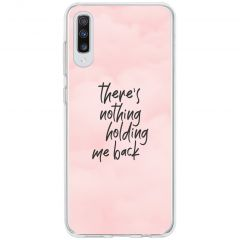 Cover Design Samsung Galaxy A70 - Nothing