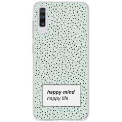 Cover Design Samsung Galaxy A70 - Happy Mind