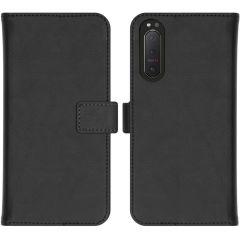 iMoshion Custodia Portafoglio de Luxe Sony Xperia 5 II - Nero