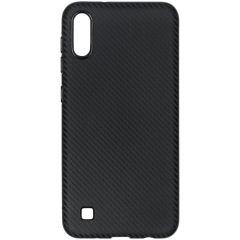 Cover in Carbonio Samsung Galaxy A10 - Nero