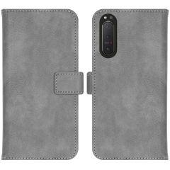 iMoshion Custodia Portafoglio de Luxe Sony Xperia 5 II - Grigio