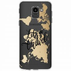 Cover Design Samsung Galaxy J6 - Quote World Map
