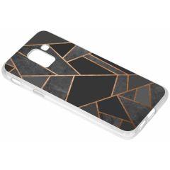 Cover Design Samsung Galaxy J6 - Black Graphic