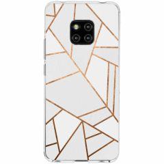 Cover Design Huawei Mate 20 Pro - White Graphic