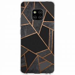 Cover Design Huawei Mate 20 Pro - Black Graphic