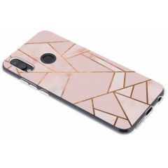 Cover Design Huawei P20 Lite - Pink Graphic