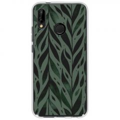 Cover Design Huawei P20 Lite - Green Leaves