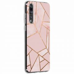 Cover Design Huawei P20 Pro - Pink Graphic