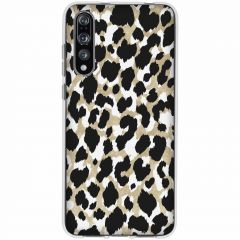 Cover Design Huawei P20 Pro - Panther Black / Gold