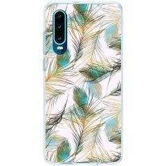 Cover Design Huawei P30 - Golden Peacock