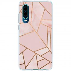Cover Design Huawei P30 - Pink Graphic