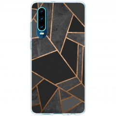 Cover Design Huawei P30 - Black Graphic