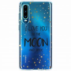 Cover Design Huawei P30 - To The Moon
