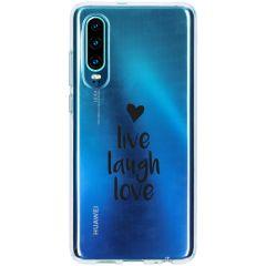 Cover Design Huawei P30 - Live Laugh Love