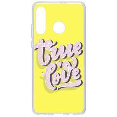 Cover Design Huawei P30 Lite - True love