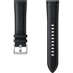 Samsung Cinturino in Pelle Samsung Galaxy Watch Active 2 / Watch 3 41mm - Nero