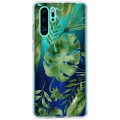 Cover Design Huawei P30 Pro - Monstera leafs design