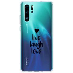 Cover Design Huawei P30 Pro - Live Laugh Love