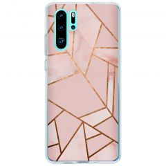 Cover Design Huawei P30 Pro - Pink Graphic