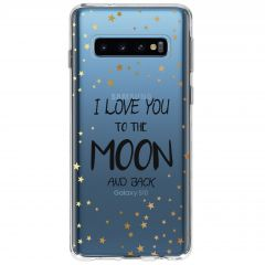 Cover Design Samsung Galaxy S10 - To The Moon