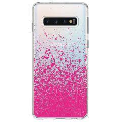 Cover Design Samsung Galaxy S10 - Splatter Pink