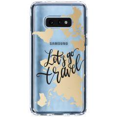 Cover Design Samsung Galaxy S10e - Quote World Map