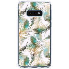 Cover Design Samsung Galaxy S10e - Gold Peacock