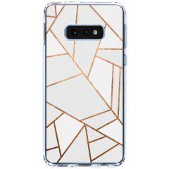 Cover Design Samsung Galaxy S10e - White Graphic