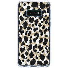 Cover Design Samsung Galaxy S10e - Panther Black / Gold