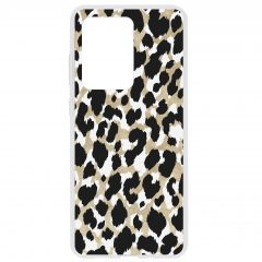 Cover Design Samsung Galaxy S20 Ultra - Panther Black / Gold