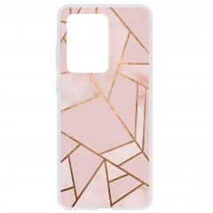 Cover Design Samsung Galaxy S20 Ultra - Pink Graphic