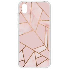 Cover Design Huawei Y5 (2019) - Pink Graphic