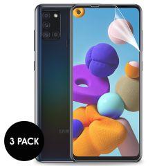 iMoshion Pellicola Protettiva Trasparente 3 Pezzi Samsung Galaxy A21s