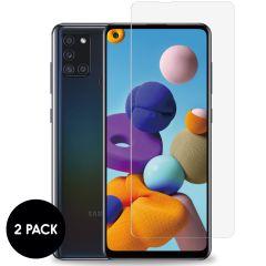 iMoshion Pellicola Protettiva in Vetro Temperato 2 Pezzi Samsung Galaxy A21s