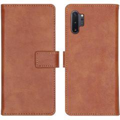 iMoshion Custodia Portafoglio de Luxe Samsung Galaxy Note 10 Plus - Marrone