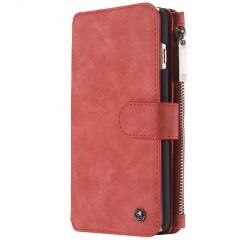 CaseMe Custodia Portafoglio de Luxe 2 in 1 iPhone 6 / 6s - Rosso