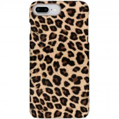 Cover Leopardato iPhone 8 Plus / 7 Plus - Marrone