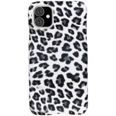 Cover Leopardato iPhone 11 - Bianco