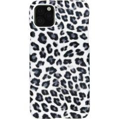 Cover Leopardato iPhone 11 Pro Max - Bianco