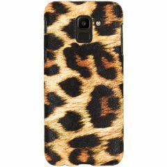 Cover Leopardato Samsung Galaxy J6 - Marrone