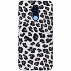 Cover Leopardato Huawei Mate 20 Lite - Bianco