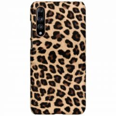 Cover Leopardato Huawei P20 Pro - Marrone