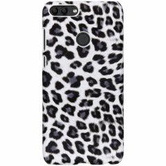 Cover Leopardato Huawei P Smart - Bianco