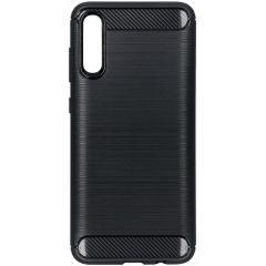 Cover Spazzolata Samsung Galaxy A70 - Nero