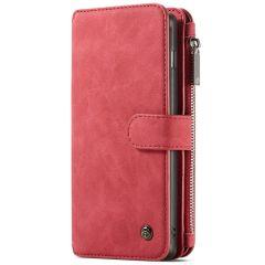 CaseMe Custodia Portafoglio de Luxe 2 in 1 Samsung Galaxy S10 Plus - Rosso