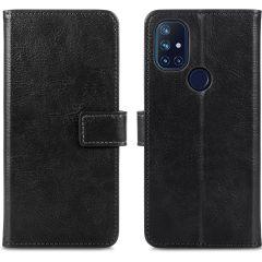 iMoshion Custodia Portafoglio de Luxe OnePlus Nord N10 5G - Nero